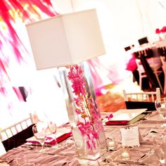 beautiful modern centerpiece