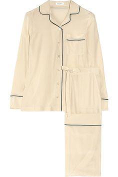 Equipment Classic Silk Pyjamas Great Gatsby Film Fashion