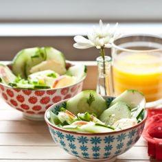 Apple cucumber salad #foodgawker