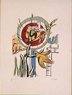 FERNAND LEGER  Both Birds