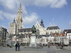 Art The Cathedral of Our Lady in Antwerp travel