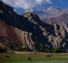 The Pamir Mountains,