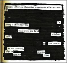 Blackout poems--get students writing without actually having to produce language! Awesome way to write with Comprehensible Input!! program idea, newspap blackout, de español, write, escribir, adult program, blackout poetry, blackout poetri, blackout poem