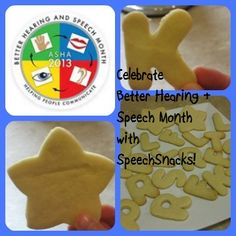 Success Cookies from SpeechSnacks to Celebrate Better Hearing and Speech Month