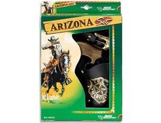 The Edison Arizona Gift Set is a 8 shot cap gun and holster that is perfect for children and adults to play with. This model comes complete in a display box. The Edison 8 shot superdisc caps are suitable for use with this model.