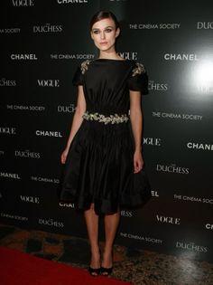 Keira Knightley — Chanel