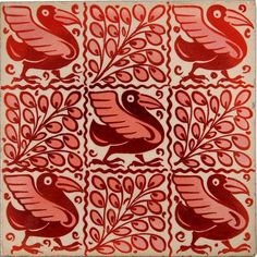 William de Morgan tile