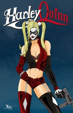 Harley Quinn by *MikeMahle