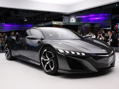 SWEET MOTHER MARY, this Acura NSX is SEXY. #cars #NAIAS #Acura #NSX