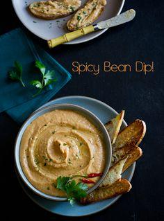 spicy bean dip 485-1