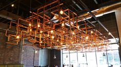 Copper Tube Maze Light