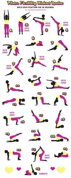 Pilates Flexibility Routine