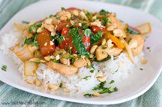 Spicy Thai Chicken