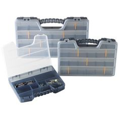 The Container Store - Parts Organizers--good to use as part of a traveling office