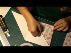 Video Tutorial: Criss Cross Card - YouTube