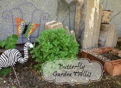 Tutorial: Butterfly Garden Trellis