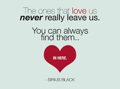 Harry Potter #Sirius Black #blogger #quote #quotes #heart