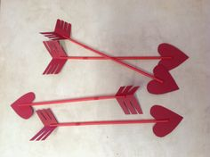 From Nerdy to Thirty: Valentine's Day Photo Prop - Cupid's Arrows #DIY #photography #babies #crafts