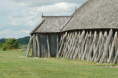 Fyrcat / Viking Longhouse (reconstruction) #ThrowbackThursday #Timber #Architecture