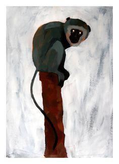...Crouching Monkey by `Duffzilla on deviantART