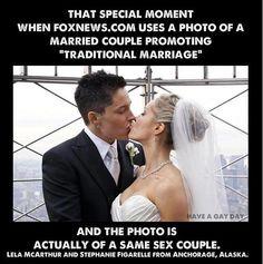 Finally, Fox News supports gay rights...accidentally! ha!