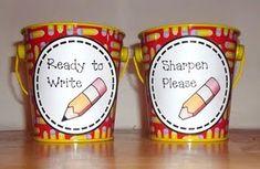 Cute pencil cups!