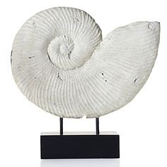 $99.95 Z Gallerie-faux fossilized shell