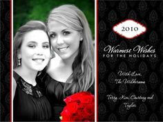 christmas card 2010. photo edited with picnik & card made at hallmark.com @Courtney Wilkerson