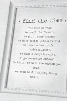 Make the time