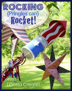 Rockin' {Pringles Can} Rocket
