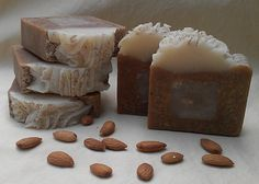 Almond Bee Soap by Sophiez Soap. This looks perfectly edible!