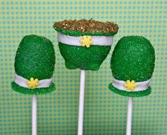 Leprechaun Hats Cake Pops