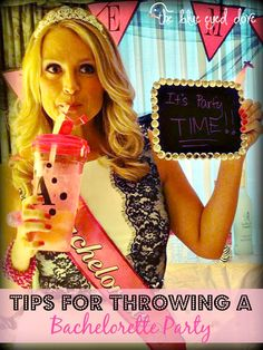 Planning a Bachelorette Party? Here's a few tips to make sure your party is a success! theblueeyeddove.com