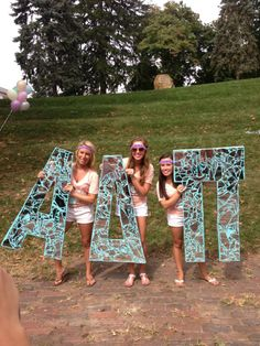 Alpha Delta Pi at Ohio University #AlphaDeltaPi #ADPi #BidDay #letters #sorority #Ohio