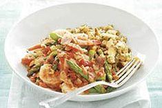 Spring Shrimp Skillet recipe #kraftrecipes