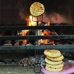 fabulous fire and crispy crumpets