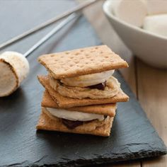 Cookie Dough S'mores. What?! Yes please!
