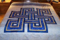 Shawkl: Celtic Knot Quilt Pattern is completed! Finally!