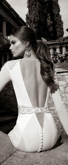 Bridal Back design    LBV ♥✤   KeepSmiling   BeStayElegant