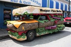 The 9 tastiest-looking literal food trucks in the world