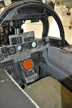 F-4 RIO cockpit #flickr #plane #1960s