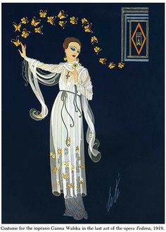 Erte Theatrical Costume One by Home and Heart, via Flickr