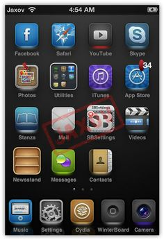 Top 10 Winterboard Themes for iPhone & iPod Touch of 2012
