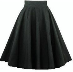 mobile site-plus size skirt stretch cotton full circle swing dancewear retro style 50s rockabilly skirts high waist black fast shipping