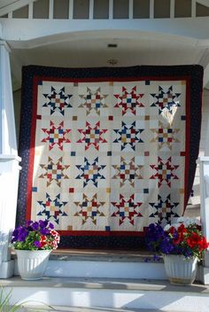 star quilt (with link to tutorial for block)