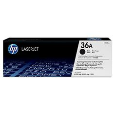 Muc In Hp 36A Black Laserjet Toner Cartridge , Mực in HP 36A Black LaserJet Toner Cartridge