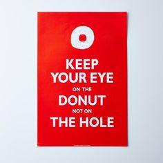 Vintage Menu Donut Print