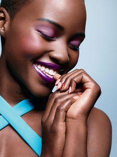 Lupita Nyongo, ESSENCE Magazine spring makeup, beauty secrets, red carpets, makeup looks, lupita nyongo