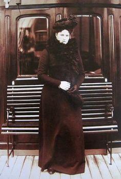 Tsarina Alexandra Fyodorovna. Mids 1900s.
