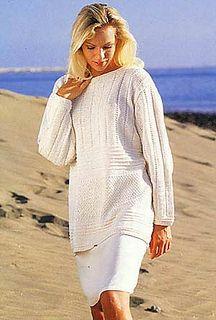 56-9 Sweater in Muskat by DROPS design